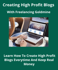 creating high profit blogs with FRG